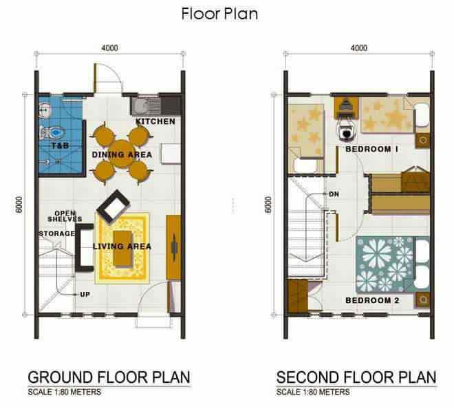 40 square meter house design house design for Best house design for 100 square meter lot