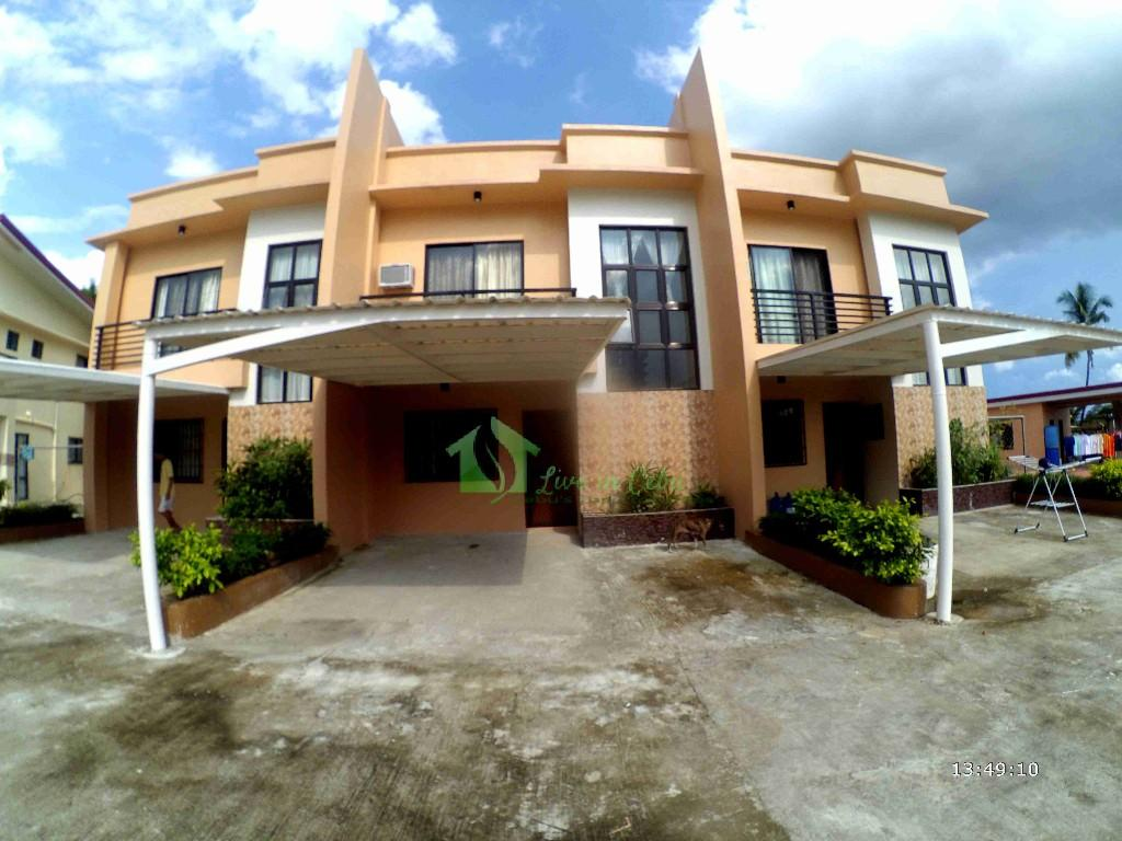 Brandnew house for rent with pool semi furnished in talamban 3br for House with swimming pool for rent
