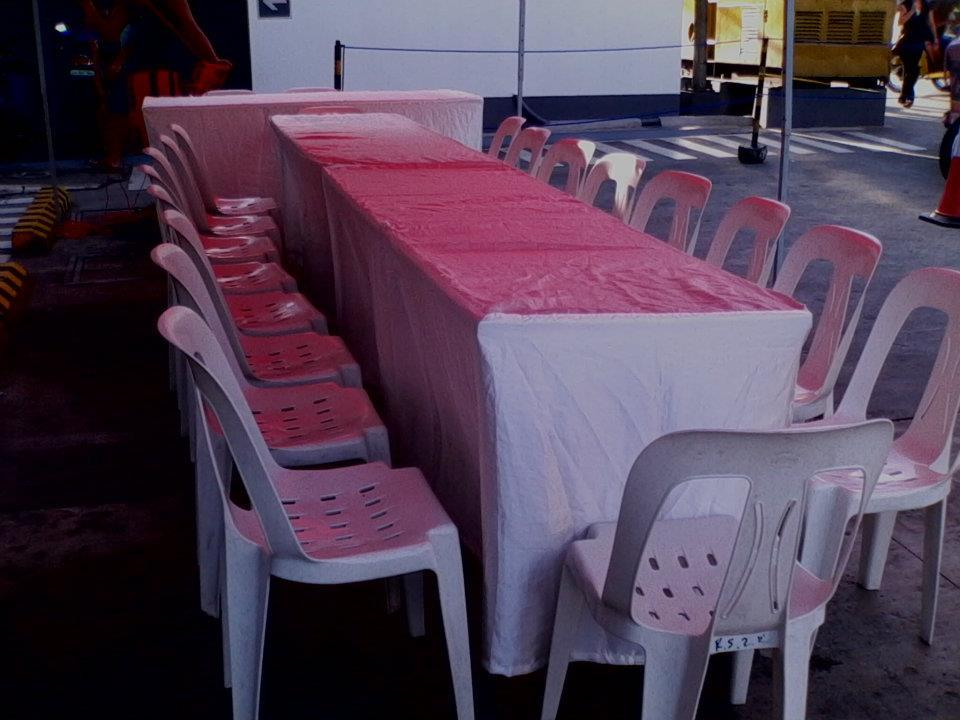 Tent Tables And Chairs Rental Makati Manila Area