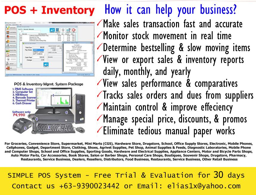 Point of Sale POS with Inventory Management, Tagaytay