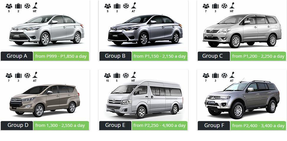Rent A Car Philippines Cheap Car Rental In Manila Anis Transport